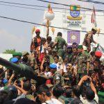 Tank di balaikota meriahkan HUT Kota Cirebon