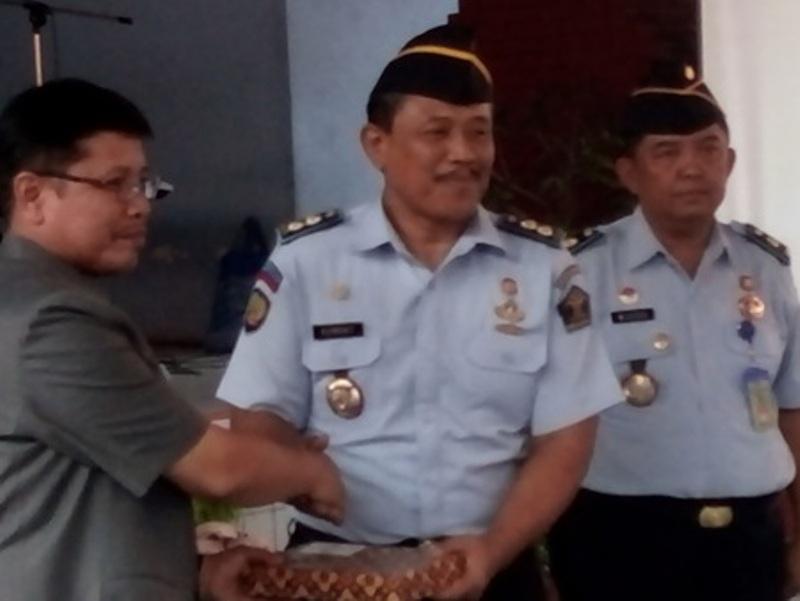 Sekretaris Daerah kota Cirebon Hadiri Pisah Sambut Kepala Rumah Tahanan Kelas 1 Cirebon