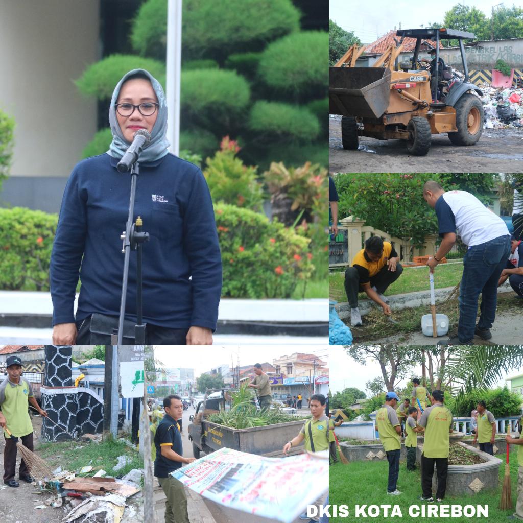 Gerakan Jumat Bersih, Wujudkan Kota Cirebon yang Nyaman