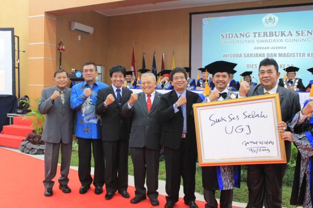 Hadiri Wisuda Unswagati, Walikota Ungkap IPM Kota Cirebon Tertinggi di Ciayumajakuning