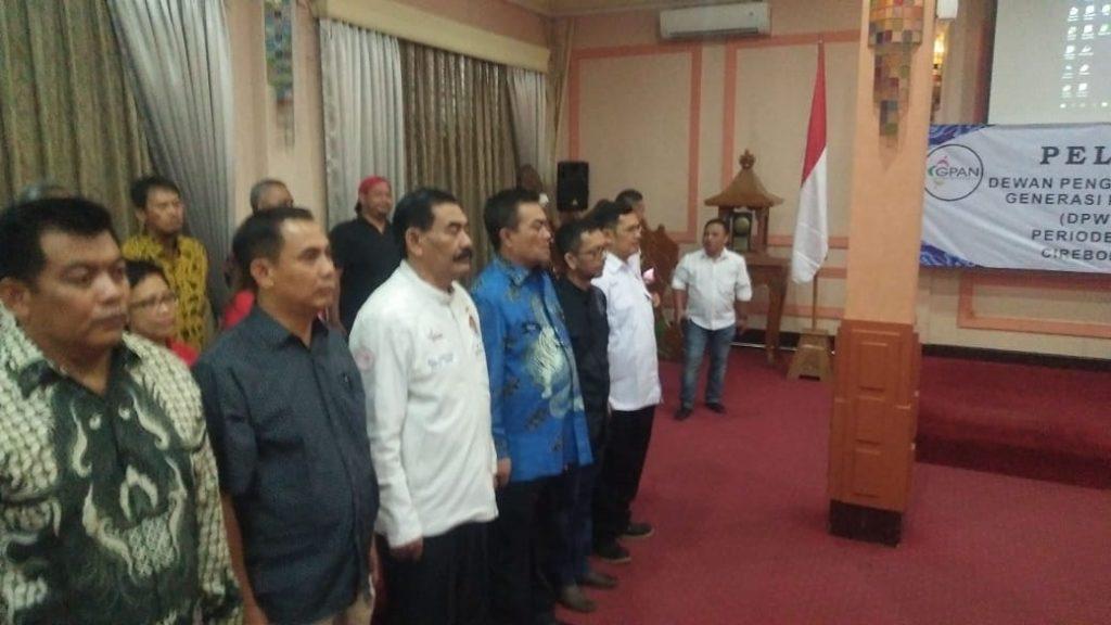 Hadiri Pelantikan GPAN, Wali Kota Ingin Cirebon Bebas Narkoba
