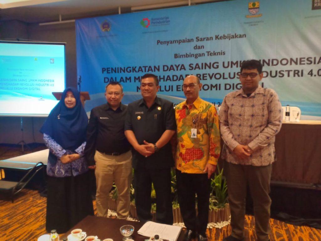 Hadapi Revolusi Digital 4.O, UMKM Kota Cirebon Diberikan Pelatihan