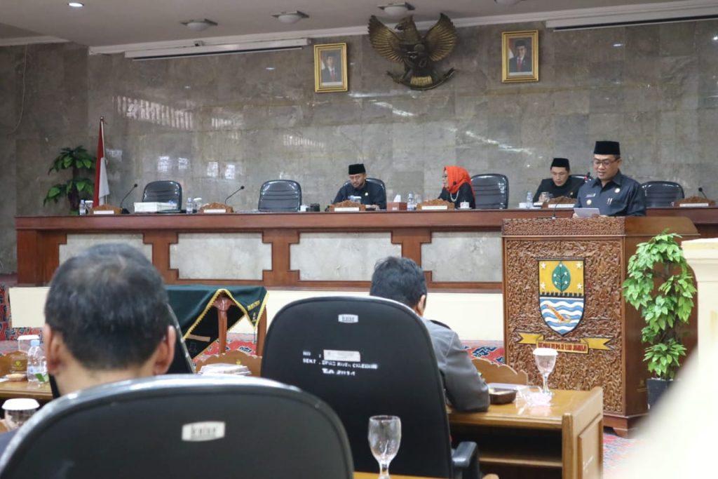 DPRD Kota Cirebon Menyetujui APBD Perubahan 2019