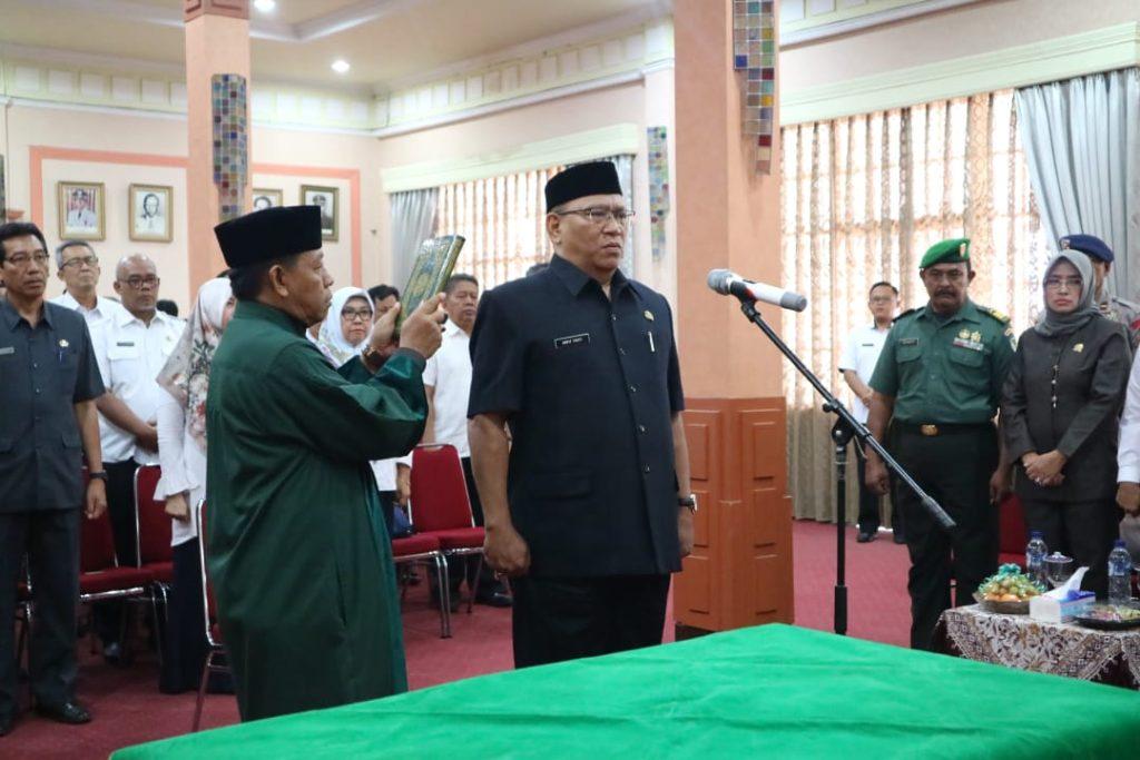 Anwar Sanusi Ditunjuk Jadi Penjabat Sekda, Wali Kota: Saya Minta Kerjasama Untuk Majukan Visi dan Misi Kota Cirebon