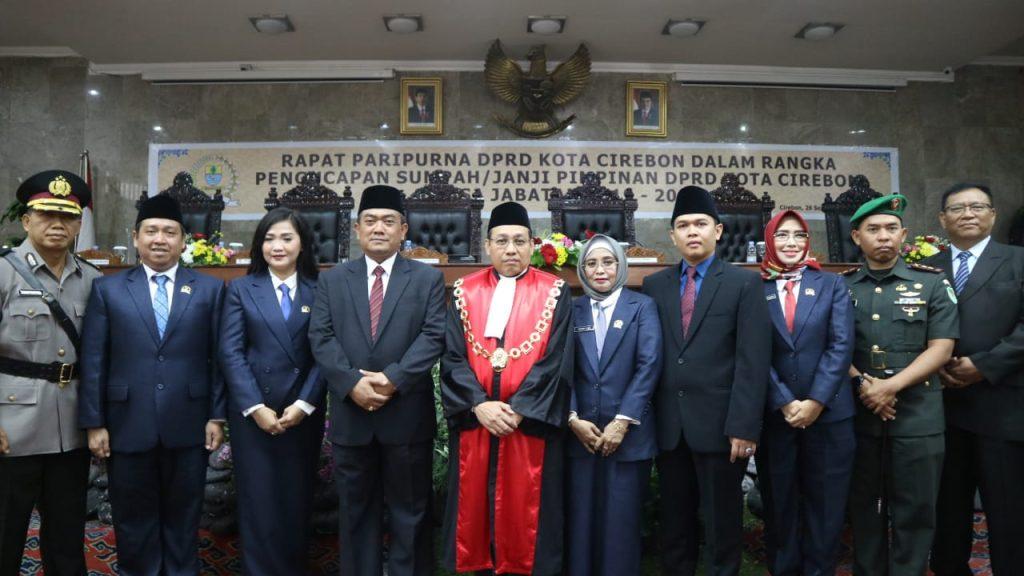 Pemda dan DPRD Kota Cirebon Mitra Sejajar Untuk Penyelenggaraan Pemerintahan di Kota Cirebon