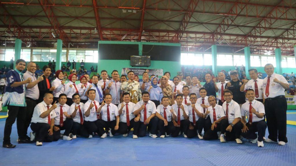 Wali Kota Buka Kejuaraan Teakwondo Gubernur Jabar Ketiga