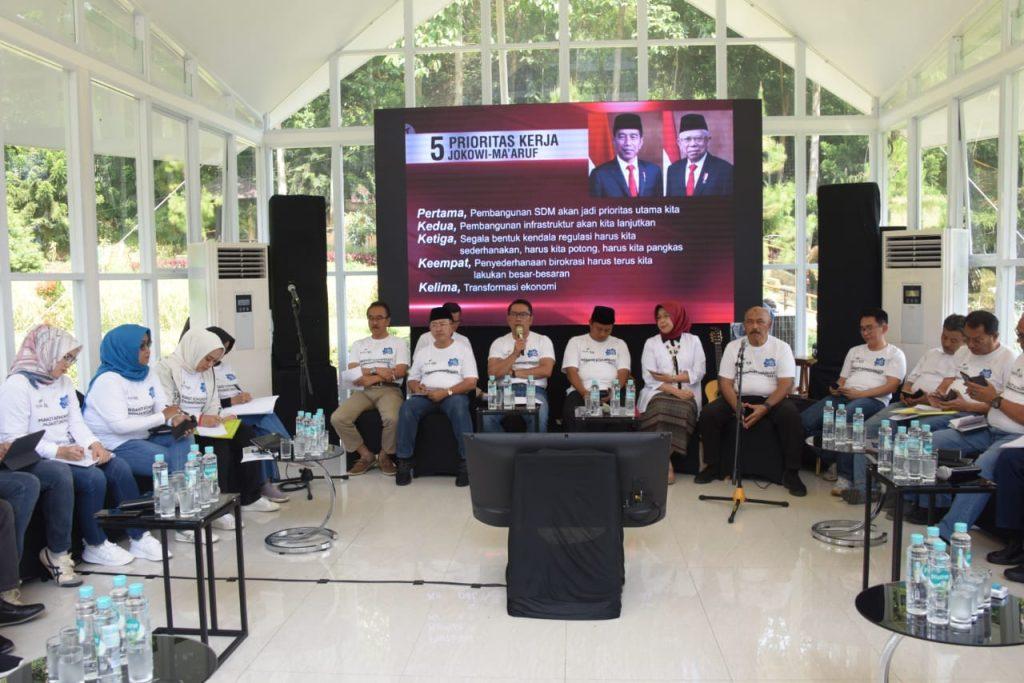 Kopdar Triwulan IV 2019: Gubernur dan Bupati/Wali Kota se-Jabar Bahas Rencana Program 2020