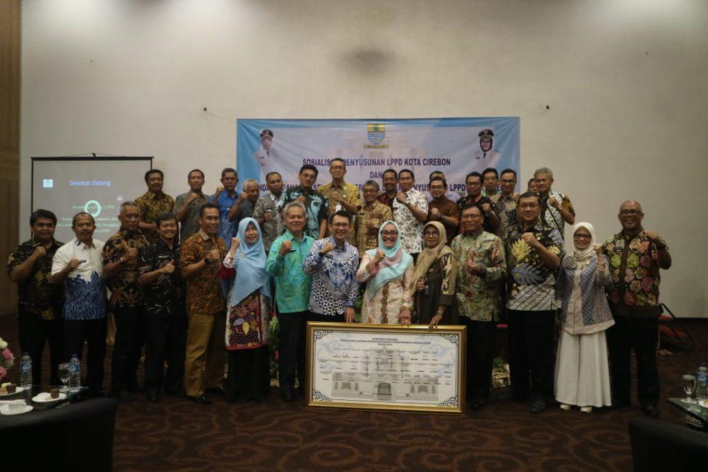 Pemda Kota Cirebon Berkomitmen Benahi LPPD