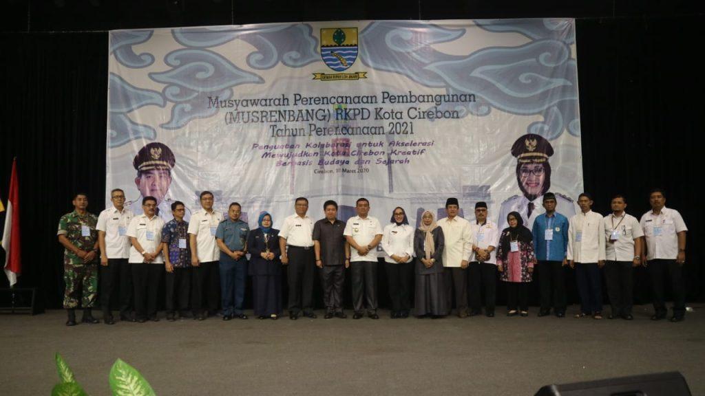 Musrenbang, Wali Kota: Peran Strategis Untuk Mewujudkan Pembangunan Sesuai Visi dan Misi