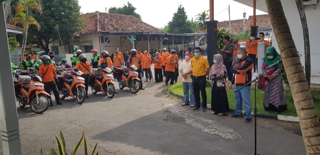 """Bantuan Pemprov Jabar """"Misbar"""" Untuk Keluarga Terdampak Covid-19 Telah Didistribusikan di Kota Cirebon"""