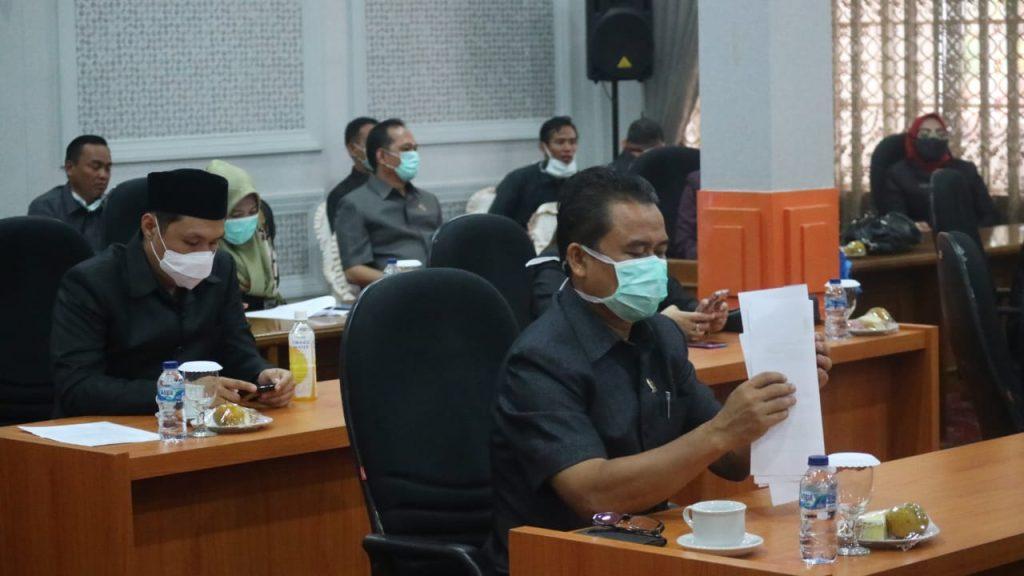 Pemda Kota Cirebon Ajukan Dua Raperda ke DPRD