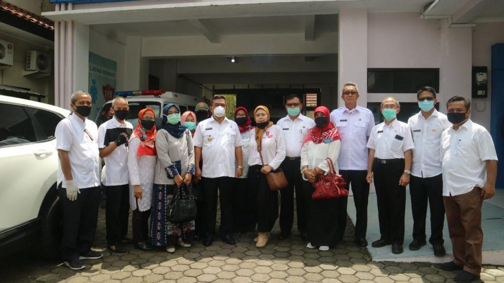 Bantuan APD Terus Berdatangan, Pemda Kota Cirebon Semakin Siap Tangani Covid 19