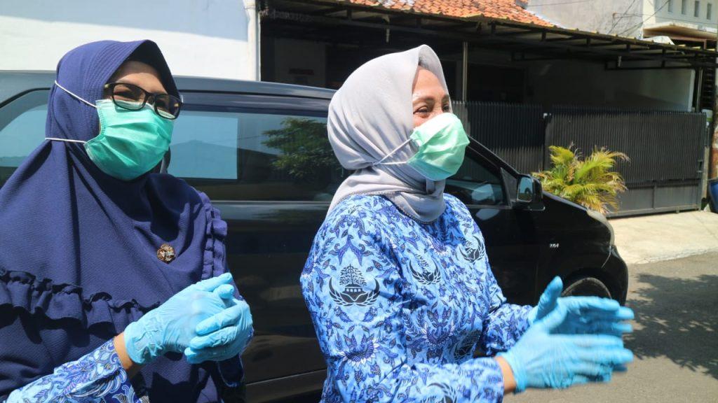 Hj. Eti Pastikan ODP Positif Terpapar Virus Hasil Rapid Test Tak Dikucilkan Masyarakat