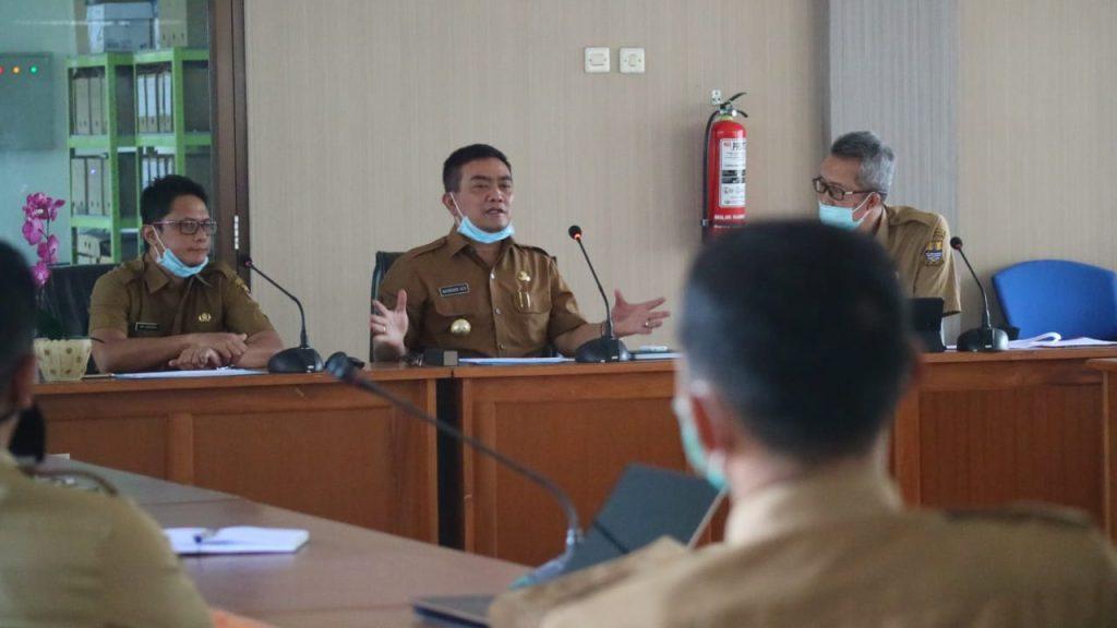 Pemda Kota Cirebon Genjot Realokasi Anggaran untuk Percepatan Penanganan Covid-19