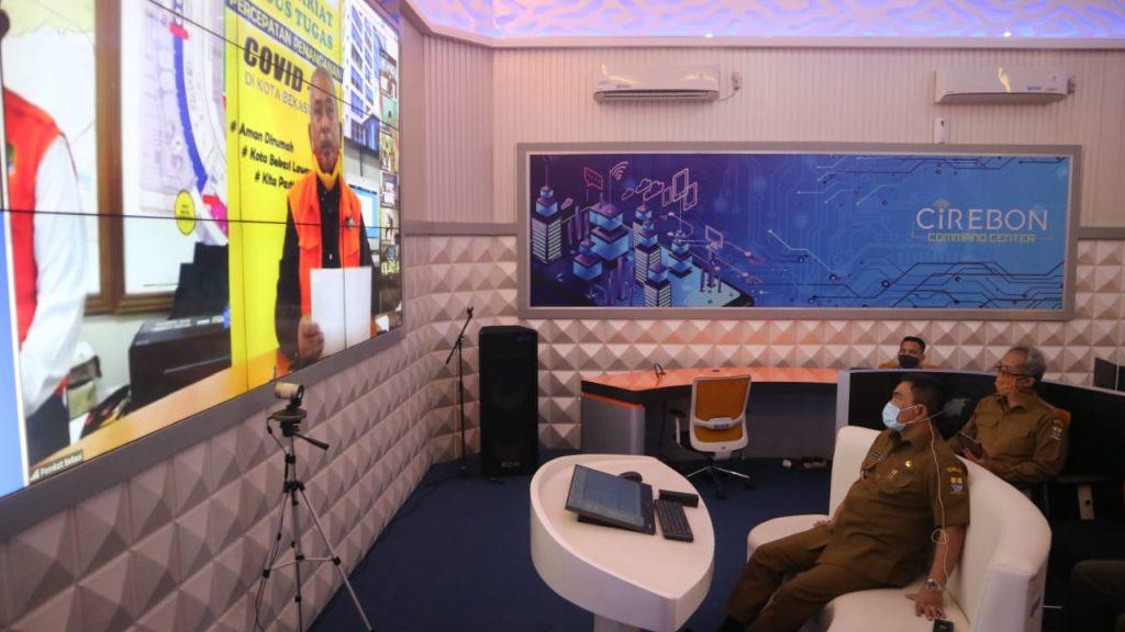 Wali Kota Cirebon Dapat Wejangan dari Gubernur Jabar Soal Penerapan PSBB