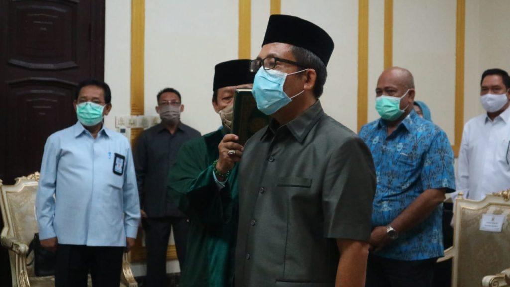 Isi Kekosongan, Wali Kota Cirebon Lantik Direktur Teknik Perumda Air Minum Tirta Giri Nata