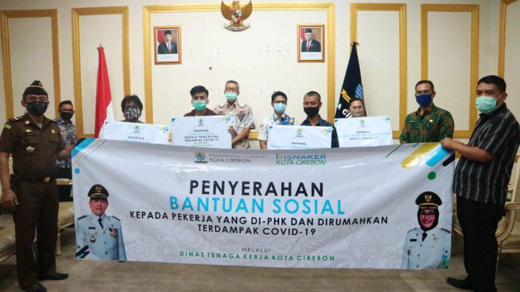 Pemda Kota Cirebon Berikan Bantuan Kepada Karyawan yang Terkena PHK
