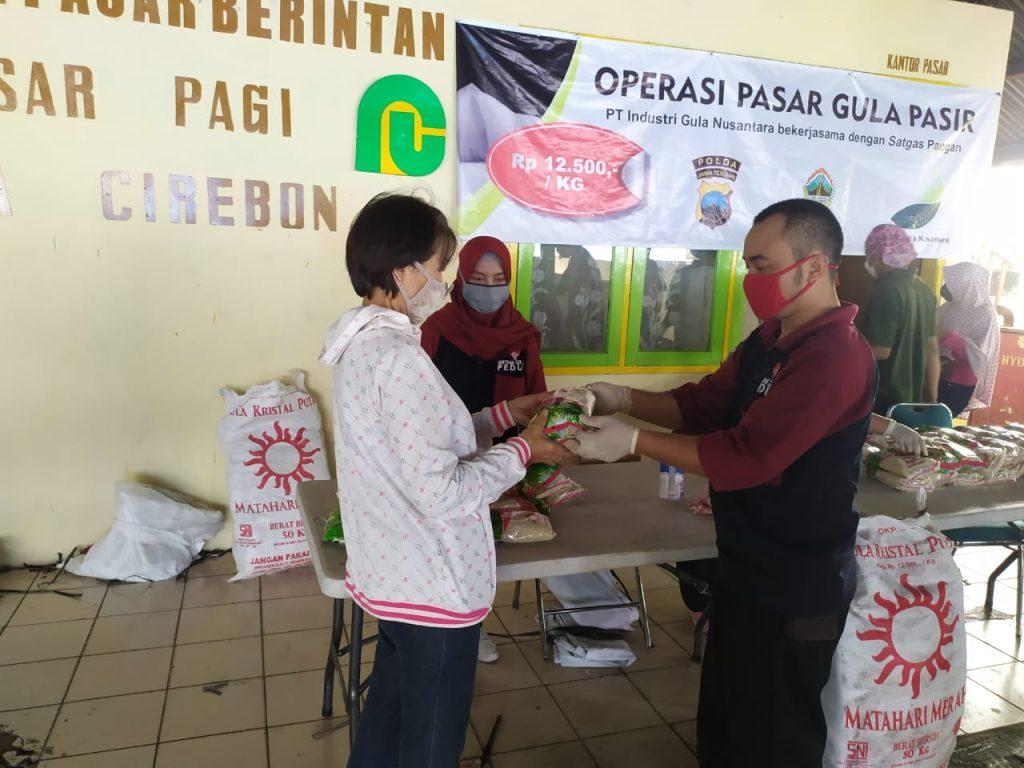 Stabilisasi Harga, 12 Ton Gula Pasir Digelontorkan di Kota Cirebon