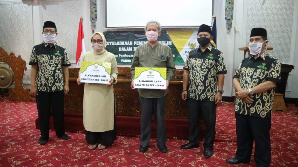 Pemda Kota Cirebon Dorong ASN Bayar Zakat di Baznas