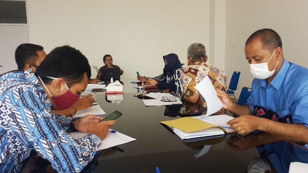 Rapat Pembahasan Raperwal Tahubja & Monev.
