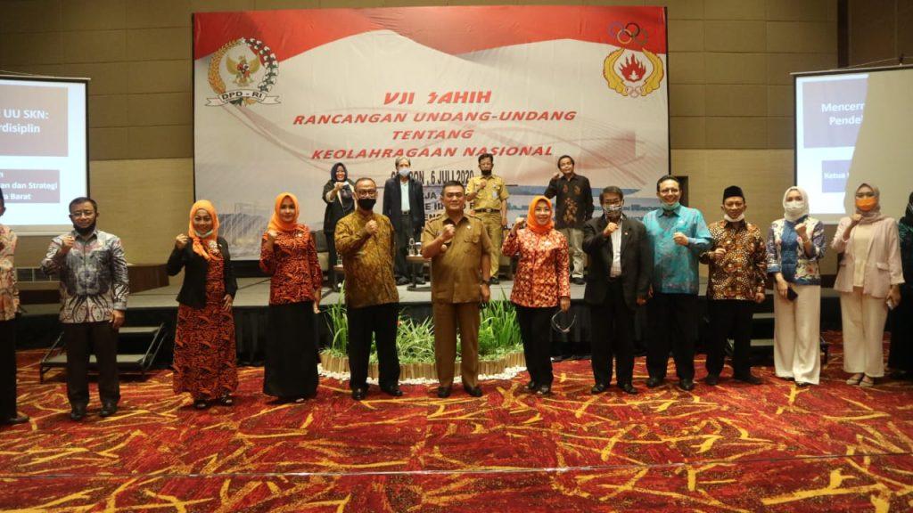 Wali Kota Cirebon Titip Masalah Pencapaian Prestasi pada Uji Sahih RUU Keolahragaan Nasional