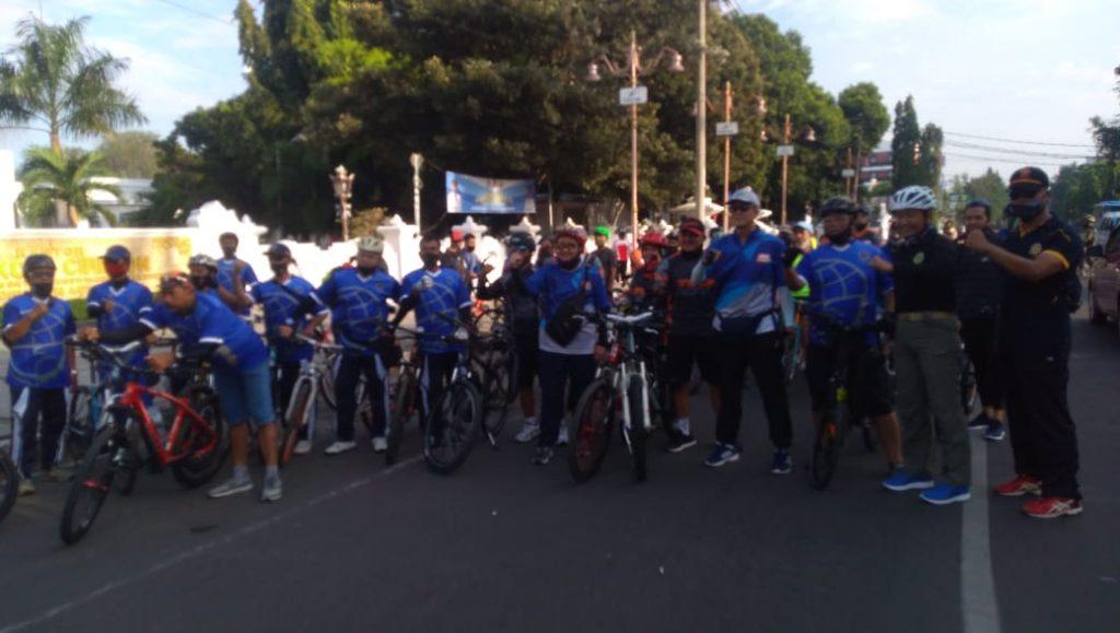 Wali Kota Cirebon: Gowes Sambil Sosialisasi Penggunaan Masker Kepada Masyarakat