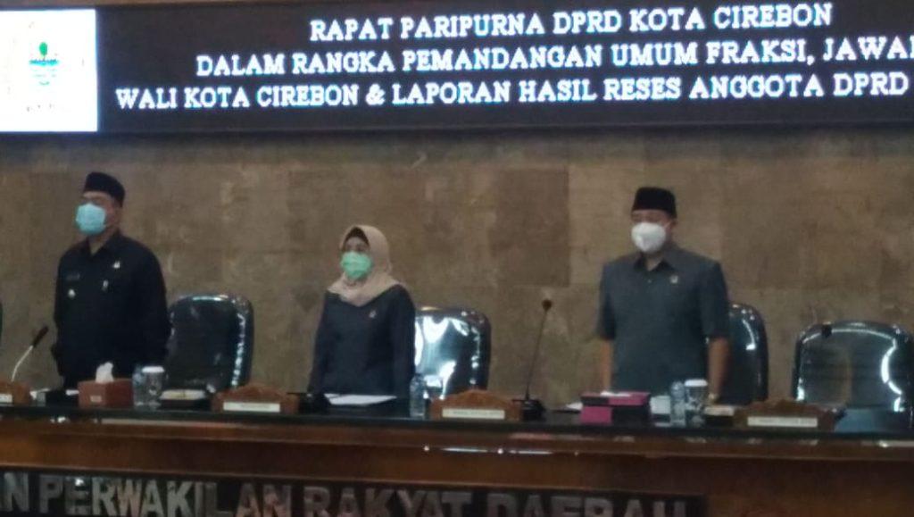 Wali Kota: Tanggapan, Kritik dan Saran dari DPRD Jadi Penyemangat Untuk Pemda Kota Cirebon