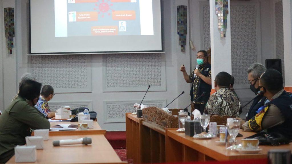 Pemda Kota Cirebon Perketat Pengawasan Selama Masa Adaptasi Kebiasaan Baru