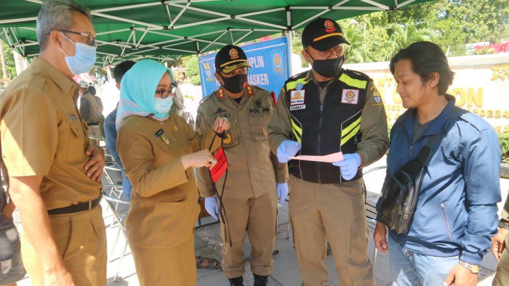 Wakil Wali Kota: Gunakan Masker Untuk Kesehatan Diri Sendiri