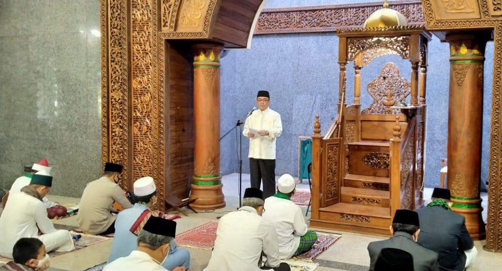 Sholat Idul Adha Digelar, Wali Kota: Ikhtiar, Doa dan Tawakal Agar Kita Terbebas dari Covid-19