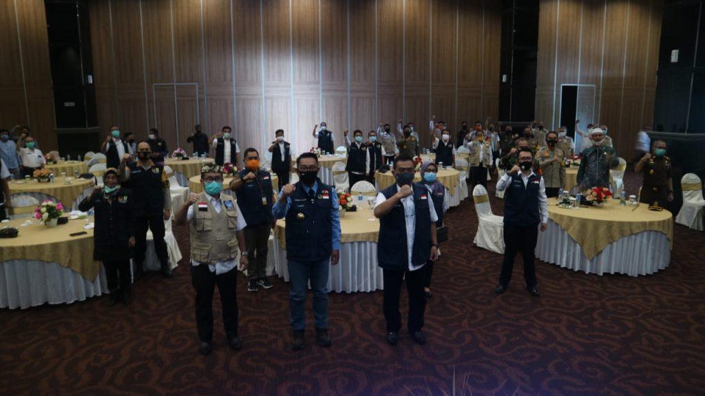 Pandemi Covid-19, Ridwan Kamil Minta Forkopimda Jaga Kekompakan dan Kesehatan