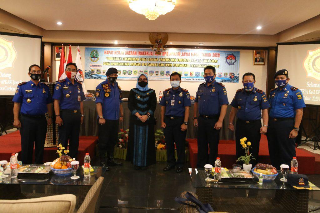 Wakil Wali Kota Cirebon Dukung Kemandirian Pemadam Kebakaran
