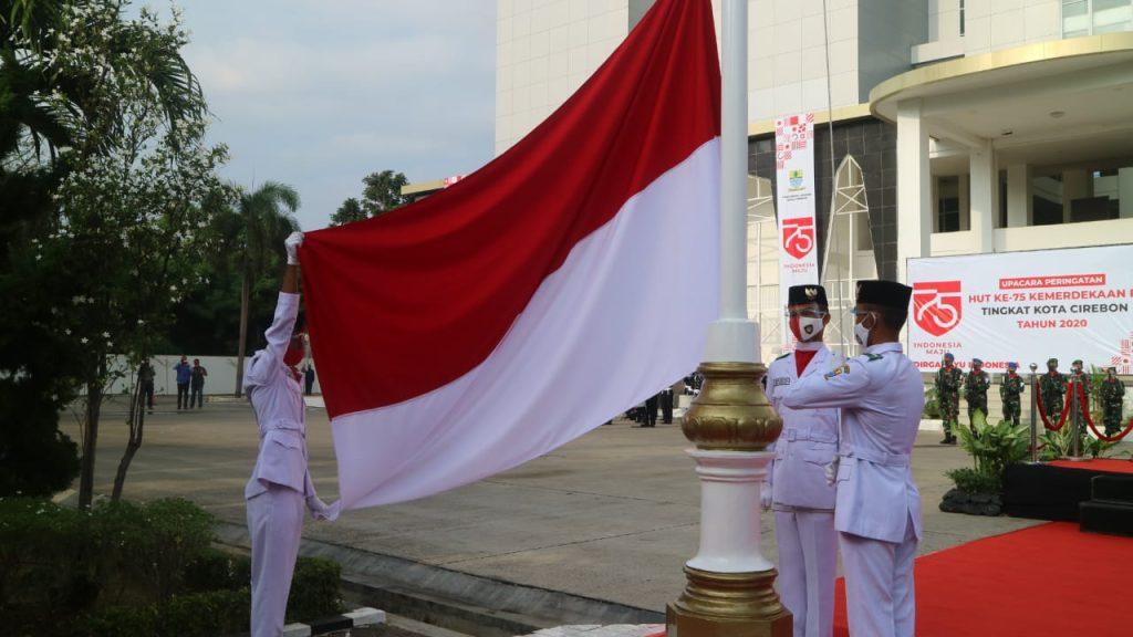 HUT RI ke 75, Wali Kota Cirebon: Mari Konsisten Lakukan Protokol Pencegahan Untuk Merdeka dari Covid-19