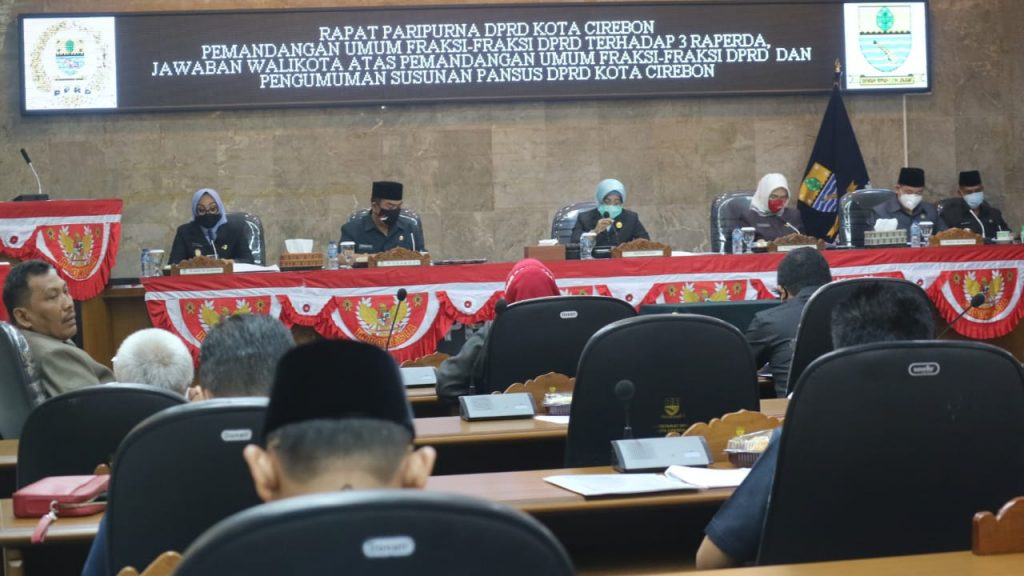 Pemda Kota Cirebon Mengusulkan 3 Raperda Delegatif Kepada DPRD
