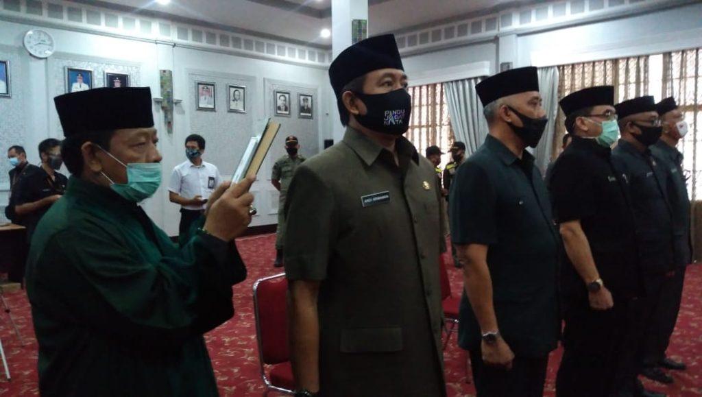 Demi Mempercepat Pencapaian Visi Misi, Wali Kota Cirebon Rotasi Sejumlah Pejabat