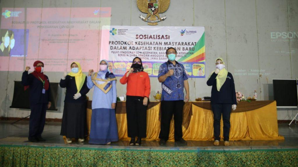 Kementerian Kesehatan & Komisi IX DPR Sosialisasi Protokol Kesehatan di Kota Cirebon