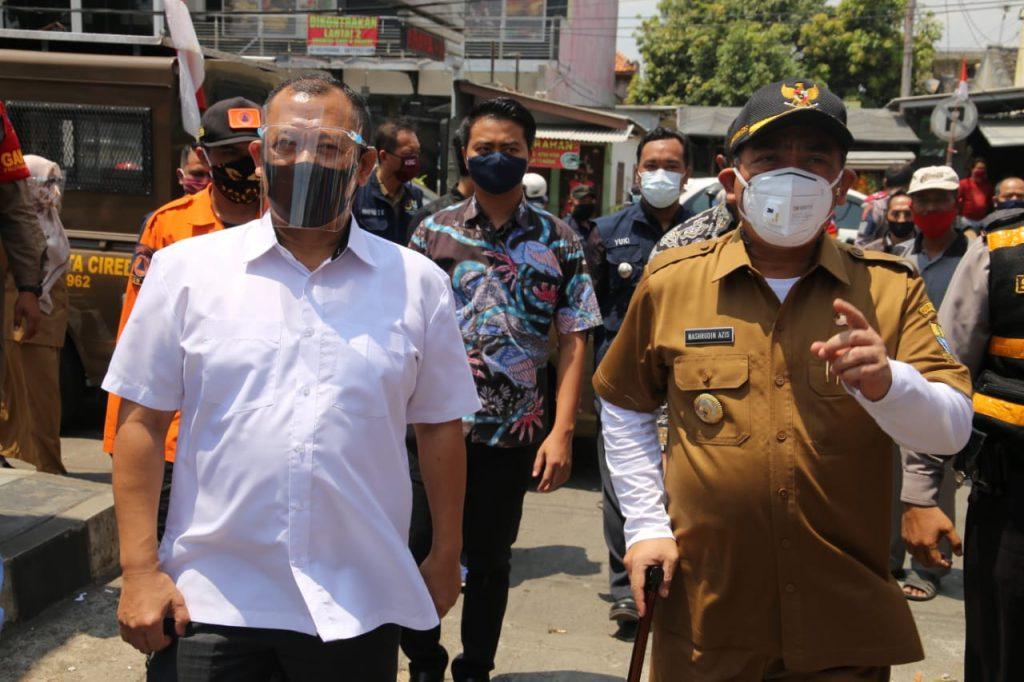 Hindari Kluster Keluarga, Wali Kota: Camat dan Lurah Diinstruksikan Gencarkan Sosialisasi Penggunaan Masker di Perumahan