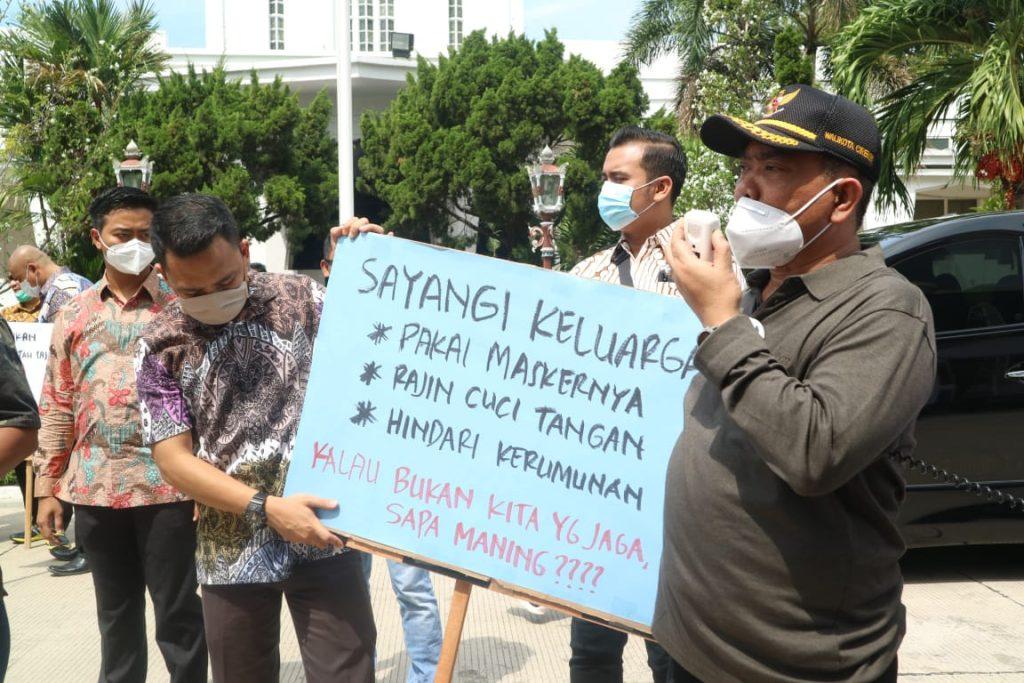 Cara Wali Kota Cirebon Curhat, Minta Warganya Patuhi Protokol Kesehatan