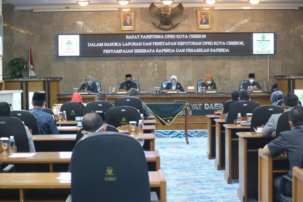 Ajukan 4 Raperda, Wali Kota Cirebon: Untuk Berikan Layanan Terbaik Bagi Masyarakat