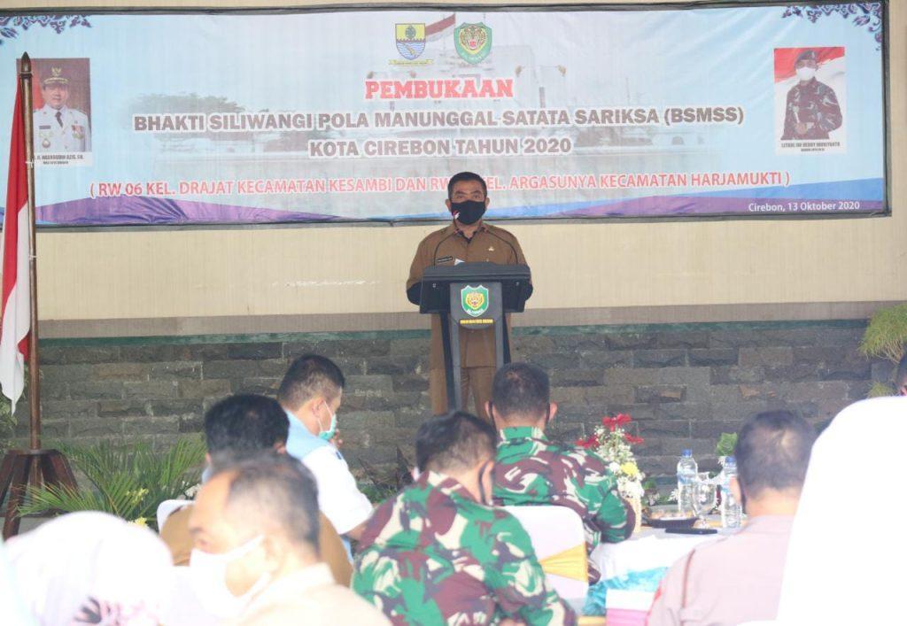 Pemda Kota Cirebon dan Kodim 0614 Berkolaborasi Mendorong Percepatan Pembangunan