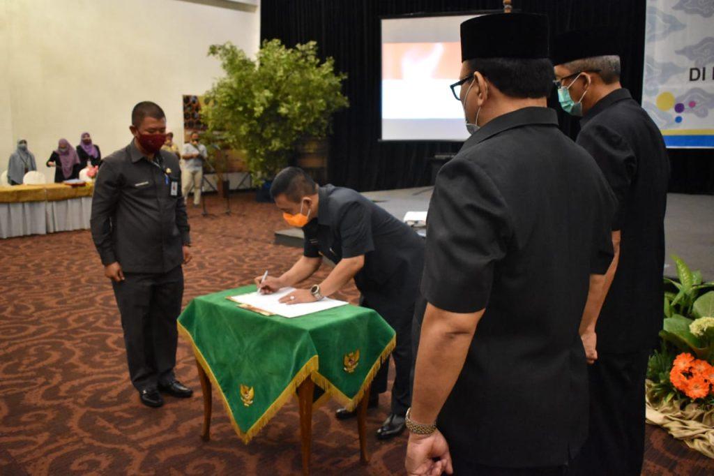 Sejumlah Penguatan Dilakukan Wali Kota Cirebon Pada Pengangkatan dan Pemindahan Jabatan