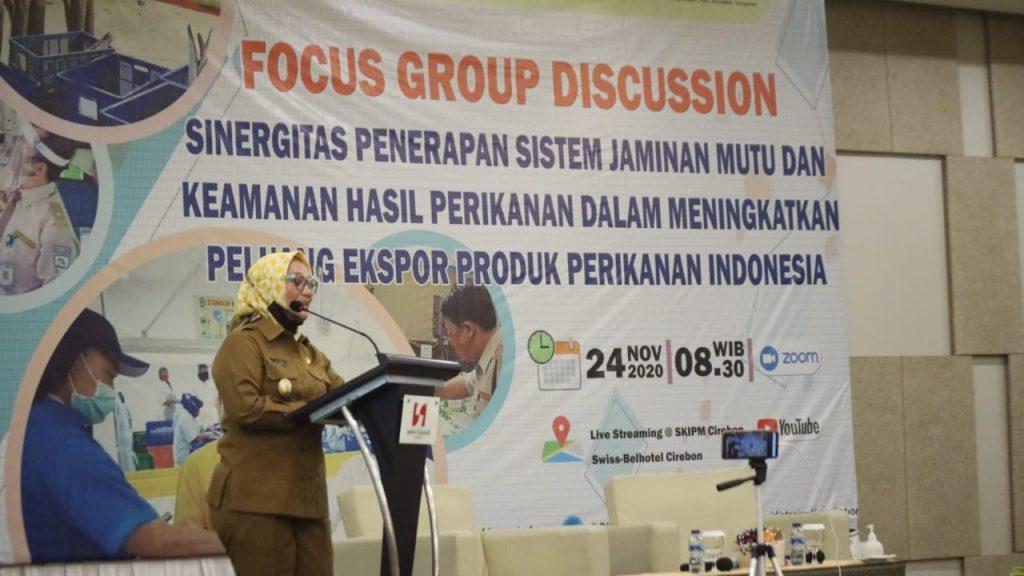 Miliki Potensi di Bidang Perikanan, Wakil Wali Kota Cirebon Minta Jaminan Mutu Produk Ditingkatkan