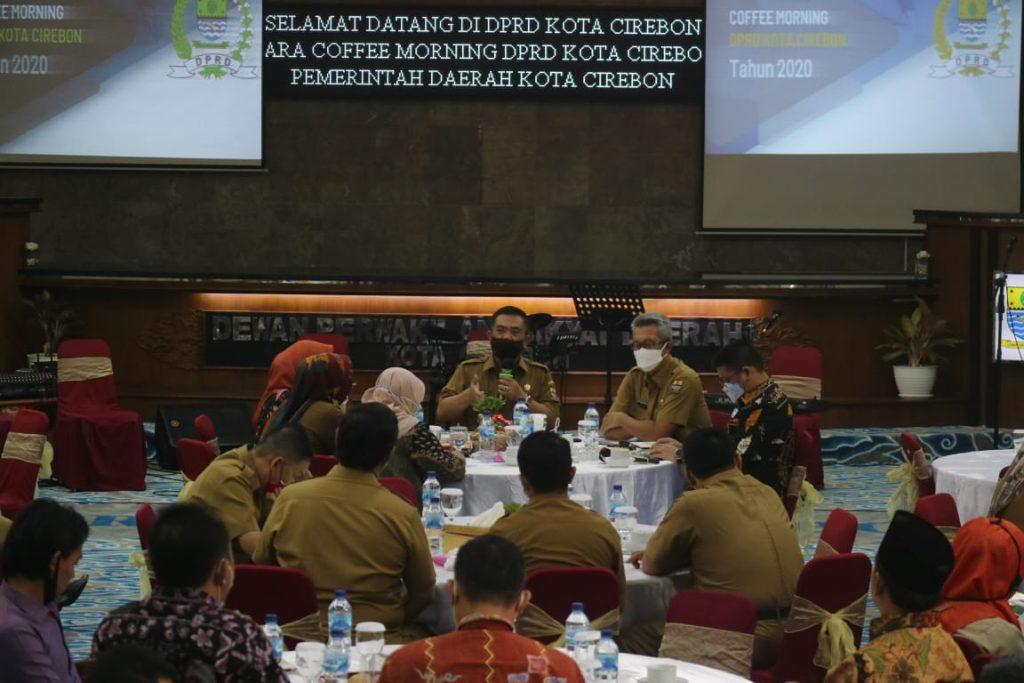Pemda dan DPRD Kota Cirebon Bersinergi Tuntaskan Permasalahan Masyarakat Terdampak Covid-19